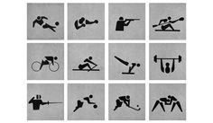 Jeux olympiques de Tokyo - 1964 Direction artistique: MASARU KATZUMIE / Graphiste: YOSHIRO YAMASHITA