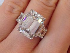 Why Choose an Emerald Cut Diamond? Cause there stunning....