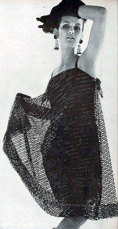 Dress by Bill Blass for Maurice Rentner, 1964