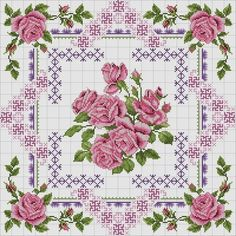 Pixel Design, Cross Stitch Flowers, Quilt Blocks, Hand Embroidery, Quilt Patterns, Projects To Try, Shabby Chic, Quilts, Knitting