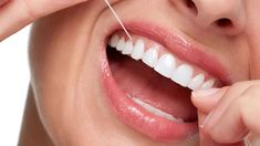 When should I start flossing? What tools work best for flossing? Is there a flossing technique? All these questions are answered here. Teeth Health, Healthy Teeth, Dental Health, Dental Care, Dental Floss, Gum Disease Treatment, Dental Emergency, Inflammation Causes