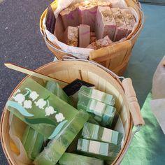Handmade soaps from Emerald Bee Bath