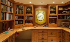 Fly Tying Room - traditional - basement - boston - by Today's Real Kitchen Design Company