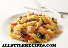 Rosemary-Garlic Pasta Primavera