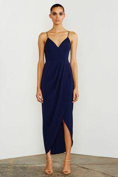 CORE COCKTAIL DRESS - NAVY – Shona Joy Lovely and Elegant!