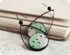 birds in the sky earrings