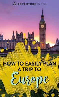 Use This Travel Information To Help Plan Your Trip Backpacking Europe, Europe Travel Guide, Europe Destinations, Travel Guides, Travel Advice, Travel Stuff, Travel Hacks, Travel Plan, Travel Essentials
