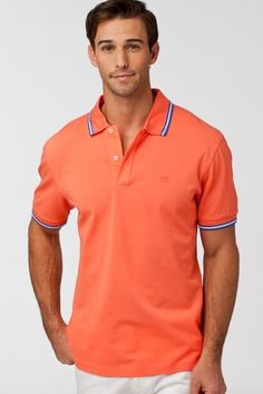 Collection Polo with Tipped Collar by Southern Tide