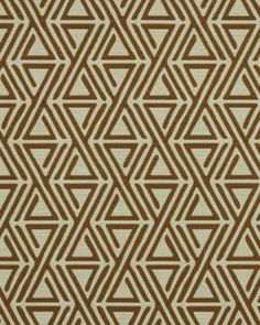 Triangle Maze in Copper  Pillow option for Living Room