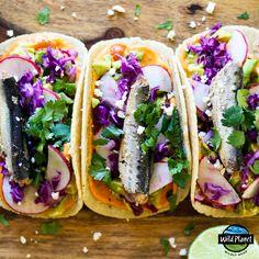 Sardines: Out of the Pantry, Onto the Plate (Bonus: Free Digital Cookbook - Sardine Recipes - Sardline Fish Recipes, Seafood Recipes, Mexican Food Recipes, Healthy Cooking, Healthy Snacks, Cooking Recipes, Healthy Eating, Burritos, Sardine Recipes Canned