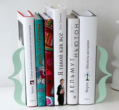 Brackets Bookends - Cute :)