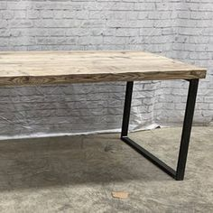 Reclaimed Industrial Chic Dining Table Bar Cafe Restaurant | Etsy Industrial Shelving, Rustic Shelves, Industrial Chic, Grey Ikea Kitchen, Wood And Metal, Solid Wood, Restaurant Furniture, Close To Home, Small Dining