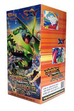 "POKEMON CARD XY ""Emerald break"" Booster Box / Korean Ver / 30 Booster Pack: Amazon.co.uk: Toys & Games"