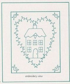 Cute Embroidery Pattern. jwt