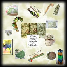 She Believed by suzannee43 on Polyvore featuring vintage, integrityTT and EtsySpecialT