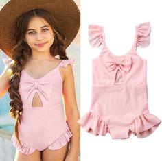 Cute Toddler Kids Girls Bikini Summer Swimwear Bathing Swimsuit Swimming Costume