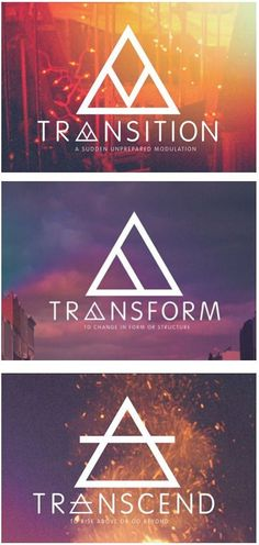 Transition Transform Transcend Glyphs