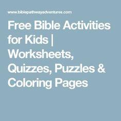 10 besten Craft Projects Bilder auf Pinterest | Sontagsschule, Bibel ...