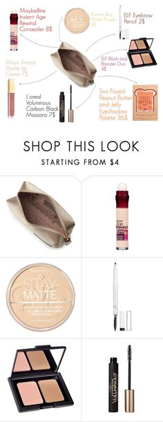 """Everyday Makeup <3"" by oliviagrace26 ❤ liked on Polyvore featuring beauty, Anya Hindmarch, Maybelline, Rimmel, e.l.f., Too Faced Cosmetics and L'Oréal Paris"