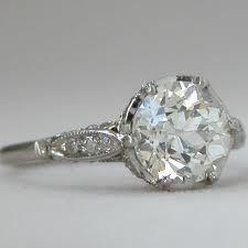 edwardian style engagement rings - Google Search