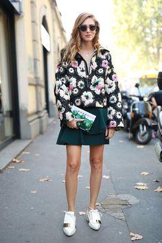 Spring 2015 PFW - Street Style - Chiara Ferragni