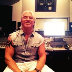 Dmitri Hvorostovsky in the #studio at #Mosfilm for #WarSongs. #bts #fbf #студия #мосфильм #песнивоенныхлет​