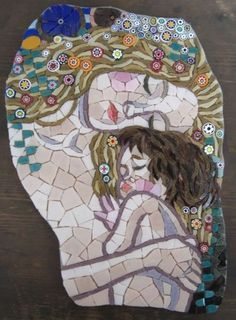 Zantium Studios – Mosaic Artists and Craft CoursesMother and Child - Private Commission - Zantium Studios - Mosaic Artists and Craft Courses