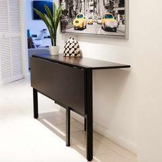 katlanır mutfak masası ıkea fotoğraf - 1