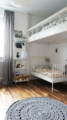 Kinderzimmer Hochbett Beautify With Garden Plants Article Body: There are many ways to make your hou Bedroom Decor For Teen Girls, Teen Girl Bedrooms, Small Master Bedroom, Bedroom Simple, Teen Bedding, Little Girl Rooms, My New Room, Kids House, Home Decor