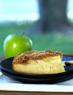 Apple Streusel Cake by SimplySated Get the recipe here.  via @AOL_Lifestyle Read more: http://www.aol.com/article/2016/05/27/impress-your-friends-on-memorial-day-with-this-amazing-american/21385020/?a_dgi=aolshare_pinterest#fullscreen