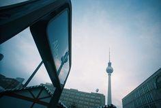 A Photo by verenaveneta - Lomography Lomography, Cn Tower, Berlin, Building, Travel, Viajes, Buildings, Traveling, Trips