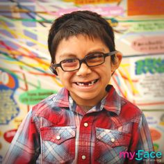 Smile along with our #myFaceStar!  Your generosity helps our children continue to thrive. Thank you! To support our mission please visit http://www.myface.org/donate #CharityTuesday #keepsmiling #spreadsmiles #TuesdayMotivation