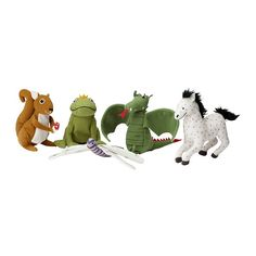 IKEA - GULLEPLUTT, Finger puppet, , One size, suitable for both small and large fingers.