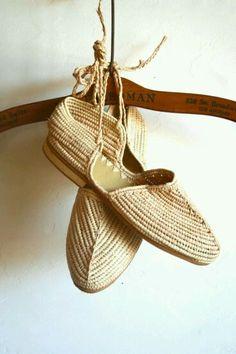 Rafia Moroccan shoes