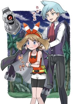 💙Pokemon Oneshot Lemons💜 - Rocky road,rough night (Steven Stone x Reader) Lemon - Wattpad Pokemon Rosa, Pokemon Mew, Pokemon Steven, Pokemon Ships, Pokemon Comics, Cute Pokemon, Pokemon Stuff, Lugia, Pokemon Remake