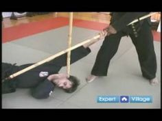▶ Hapkido Bo Staff Martial Arts Weapon : Bo Staff to Staff Fighting Techniques - YouTube