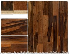 Engineered Hardwood - Brazilian Exotic Collection - Brazilian Pecan Chocolate