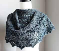 Arroyo Summer Shawl free knitting pattern