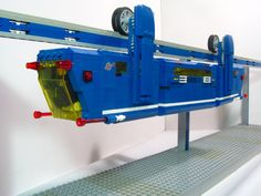 Lego Power Functions Suspended Monorail | Flickr - Photo Sharing!