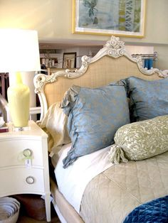 LOVING this headboard from Isabella Home. Featured today on the littlegreennotebook.com