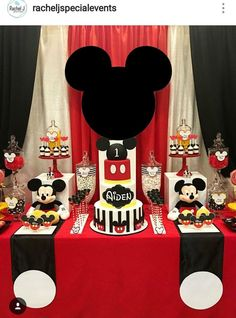 Birthday party cake table mickey mouse 63 Ideas for 2019 Mickey Mouse Birthday Decorations, Mickey 1st Birthdays, Fiesta Mickey Mouse, Mickey Mouse Baby Shower, Theme Mickey, Mickey Mouse Clubhouse Party, Mickey Mouse Clubhouse Birthday, Mickey Mouse Head, Mickey Mouse Parties