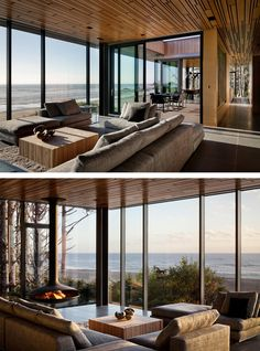 Boora Architects have designed the 360 House, a beachfront vacation home located on the Oregon Coast.