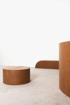 Furniture by RO/LU designers at Patrick Parrish gallery. New York