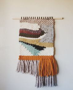THUNDERBIRD // fringed woven wall hanging by ConnivingBitchStudio