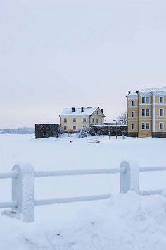 Unesco World Heritage, Suomenlinna Sea Fortress in Finland, in Helsinki Id Travel, Norway Oslo, Old Mansions, Copenhagen Denmark, Winter Scenes, Helsinki, World Heritage Sites, Places To Visit, Castle