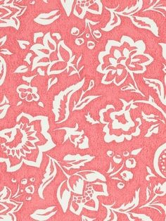 """Madcap Cottage Rokeby Road Rhubarb - Madcap Cottage Fabric - Floral print fabric for window treatments, upholstery or top of the bed. 100% cotton. Repeat: H 27"""" x V 13.5"""". Durable 100,000 double rubs. 54"""" wide."""