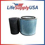 Filter Fits Austin Air HM-200 HM200 Air Purifier Filter fits HealthMate HealthMate Jr with Prefilter  By LifeSupplyUSA