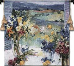 Tuscany Floral Tapestry - Small