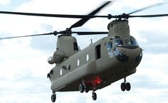 Indian Air Force Selects Chinook Helos