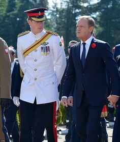 Prince Harry in Italy - paying tribute to Polish veterans who captured Monte Cassino in WWII. It was 70 years ago today that troops from the Polish II Corps finally took the ruined Benedictine monastery near Rome.